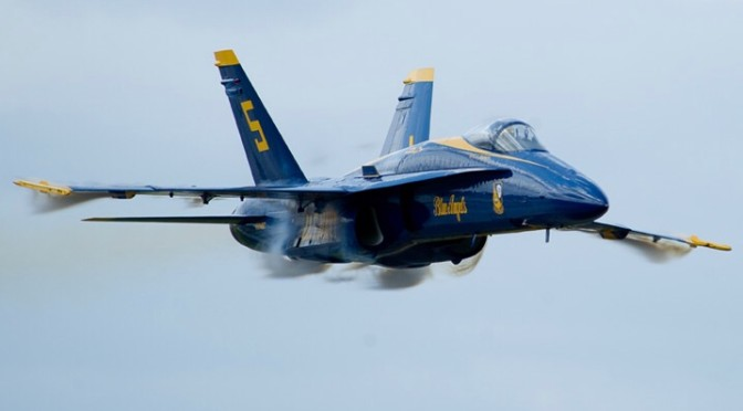 The View From Olympus 31: Blue Angels vs. Red Devils