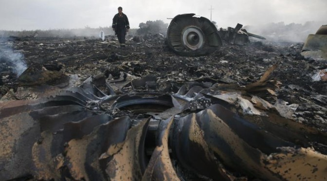 The View From Olympus: A Quick Look At The MH17 Shoot-Down